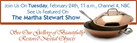 Martha Stewart Show, Feb 24, 11 am Channel 4, NBC